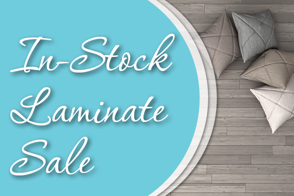 In-stock Laminate On Sale, starting at $1.49 sq.ft.